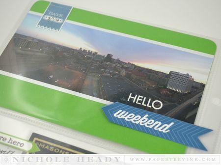 Panoramic card