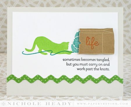 Work Past the Knots Card