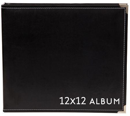 12x12 SN@P faux leather album