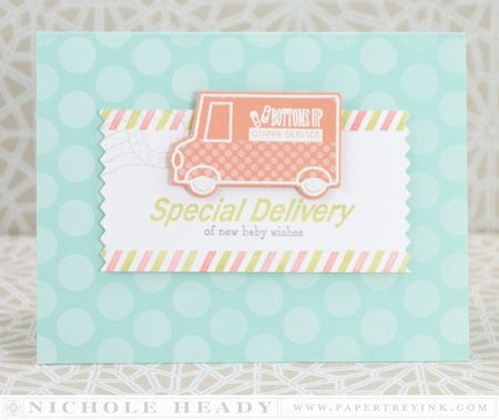 Spevial Delivery Baby Card
