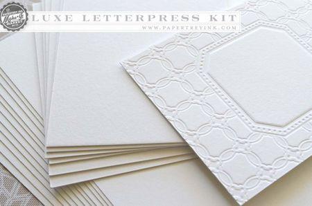 Luxe Letterpress lettra