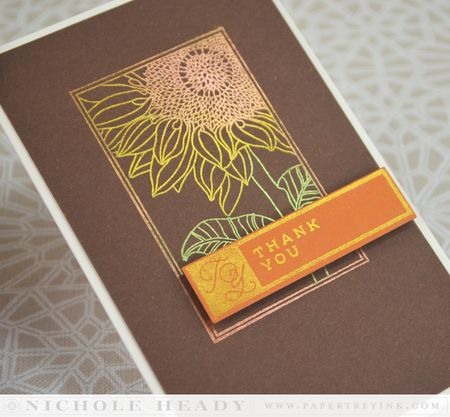 Sunflower Shine Card