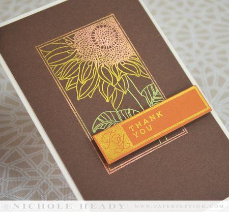 Sunflower Shine Card