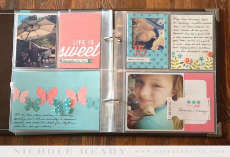 Life is Sweet layout