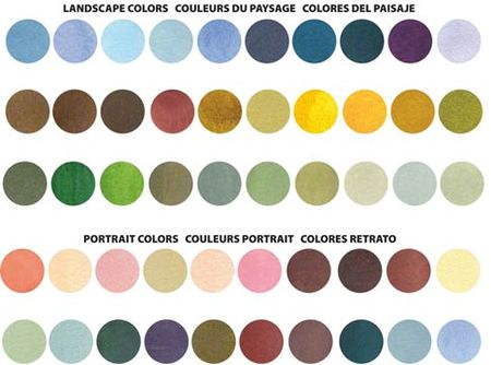 Splash Ink Color Chart 2