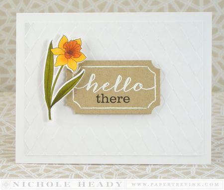 Hello Daffodil Card