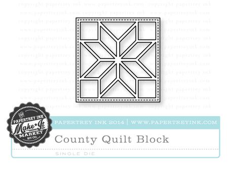 County-Quilt-Block-die