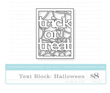 Text-Block-Halloween-die