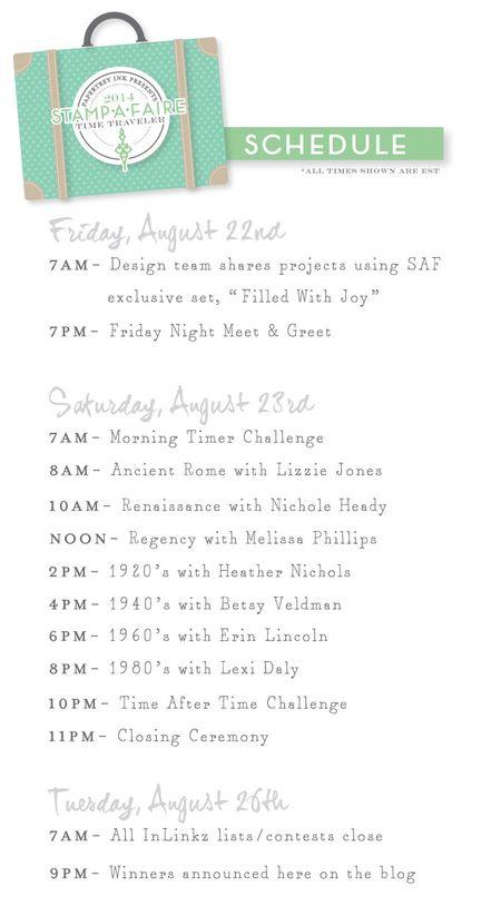 SAF-2014-Schedule