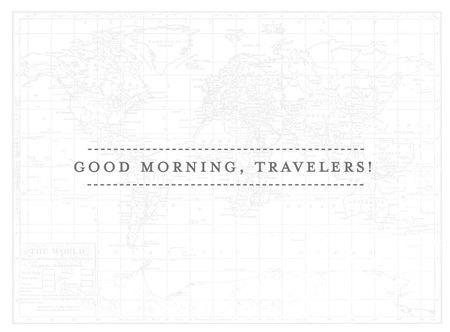 Morning-travelers