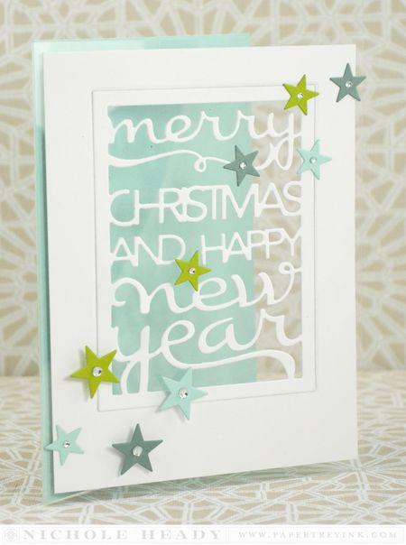 Christmas & New Year Window Card