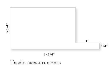 Tassle-measurements