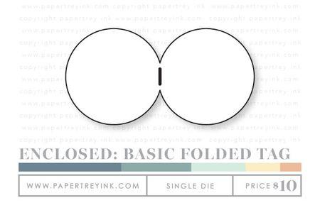 Enclosed-basic-folded-tag-die