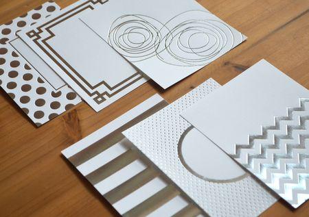 Silver foil designs