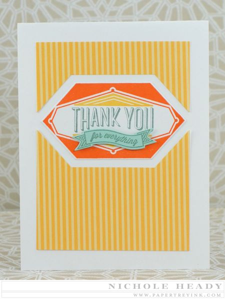 10 Minute Thank You Card