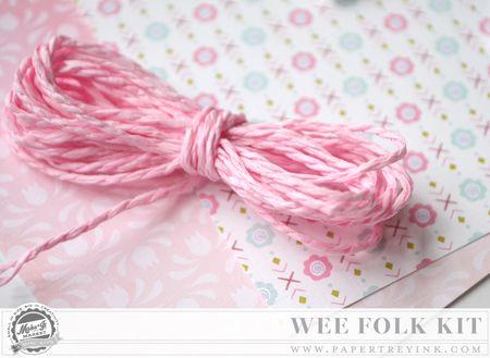 Pink twine