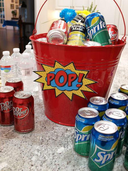 Soda pop bucket sm