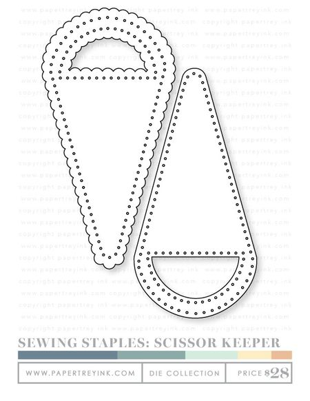 Sewing-staples-scissor-keeper-dies