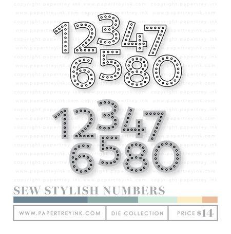 Sew-stylish-numbers-dies