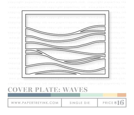 Cover-plate-waves-die
