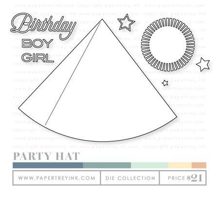 Party-hat-dies
