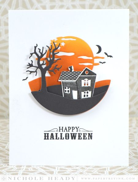 Spook Manor Card