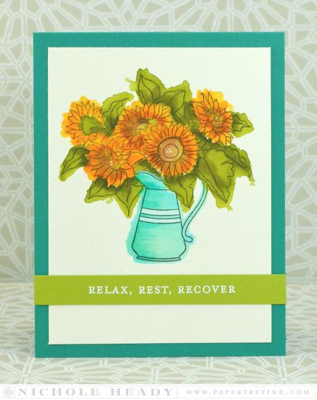Relax Rest Recover card