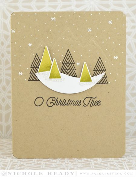 O Christmas Tree card