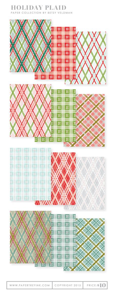 Holiday-Plaid-paper-collection