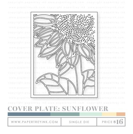 Cover-Plate-Sunflower-die