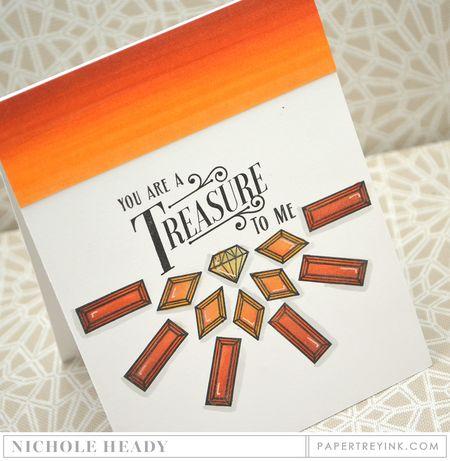 Citrine Treasure Card