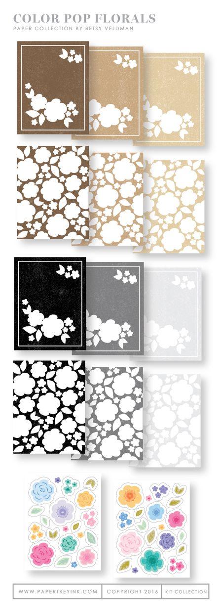 Color-Pop-Florals-Paper-Collection