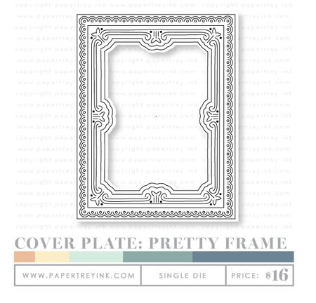 Cover-Plate-Pretty-Frame-die