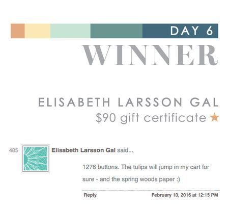 Day 6 Elisabeth