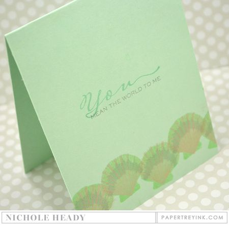 Scallop Shimmer Card