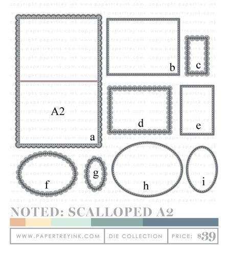 Noted-Scalloped-A2-dies