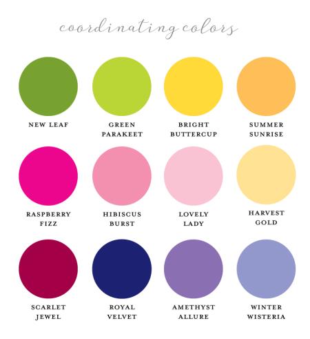 Coordinating-colors