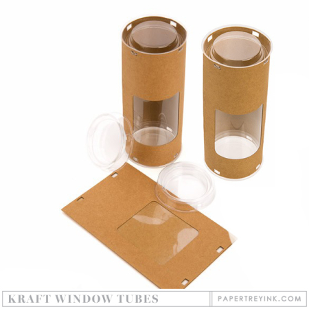 Kraft Window Tubes
