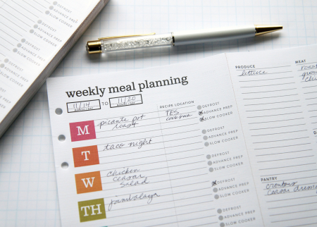 Meal planning close