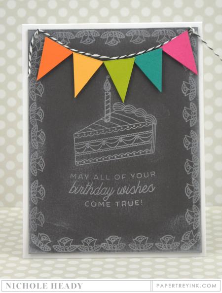 Birthday Chalkboard Card