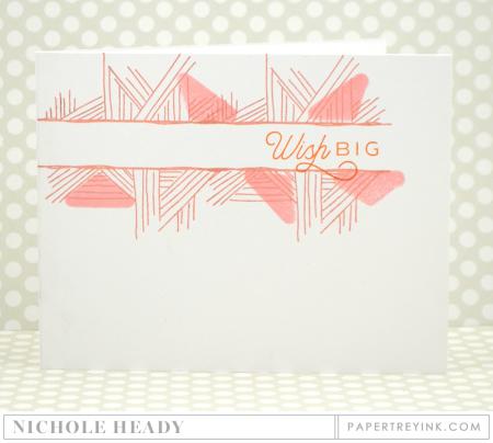 Wish Big Pastels Card