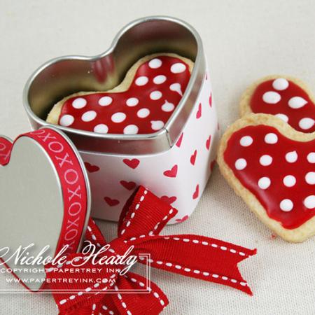 Heart tins