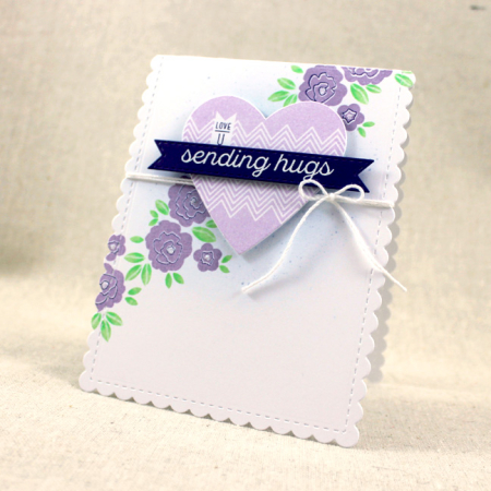 10th Anniversary - Sending Hugs Card