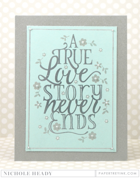 Paper Clippings Love Story - Nichole