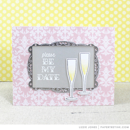 Framed Be My Date Card