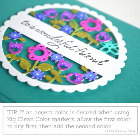 Watercolor tip