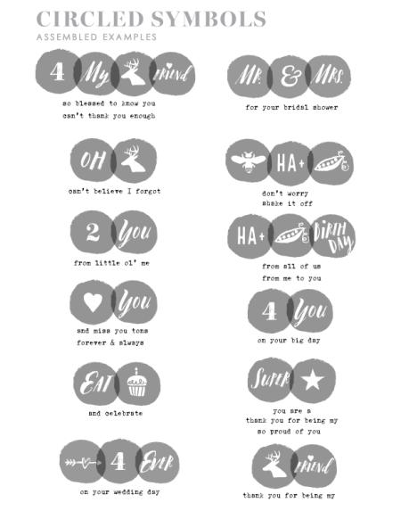 Circled-Symbols-examples