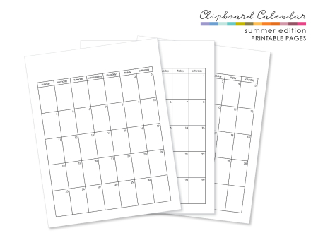 Clipboardcalendargraphic