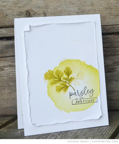 Parsley Gratitude Card