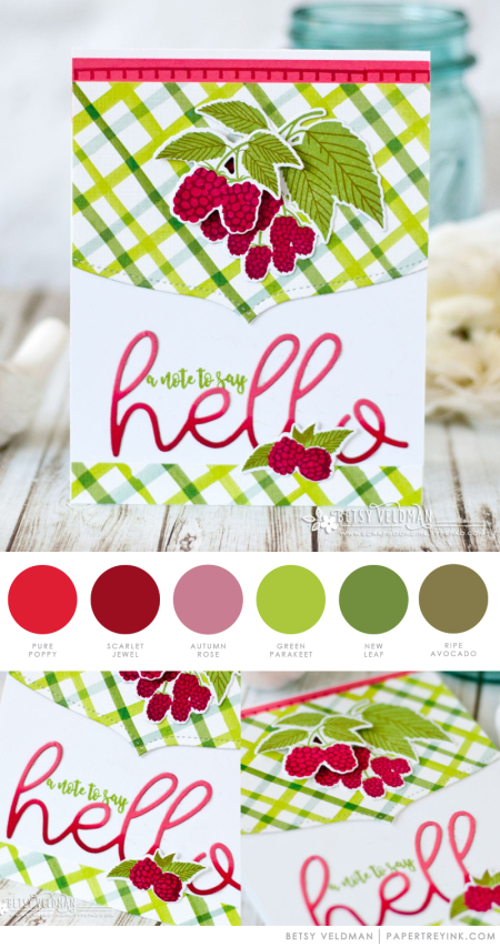 Berry Hello by Betsy Veldman for Papertrey Ink